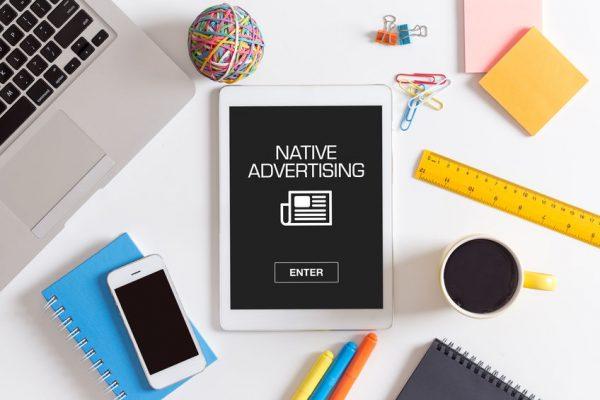 publicité native advertising pour stratégie de contenu